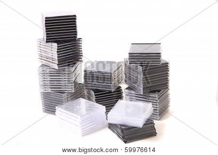 Plastic Empty Cd And Dvd Boxes