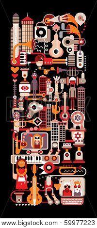 Music City Night