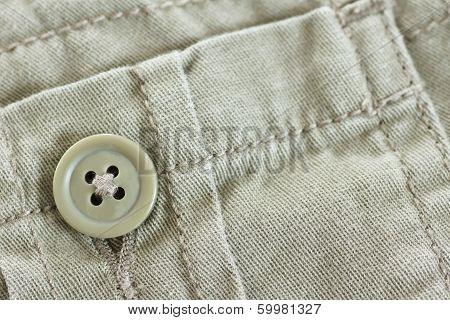 Khaki Pocket With Button