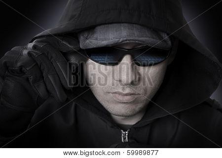 Hacker In A Sunglasses