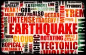 stock photo of prone  - Earthquake Natural Disaster as a Art Background - JPG