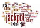 Jackpot Word Cloud