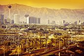image of sinful  - Las Vegas Nevada Cityscape in One Hot Summer Day.