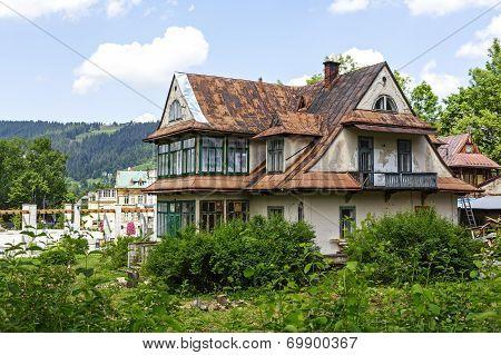 House Of Brick, Built Around Year 1910 In Zakopane