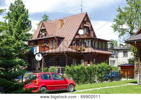 Villa W Sloncu In Zakopane