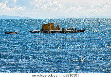 Floating Island, Titicaca Lake, Bolivia