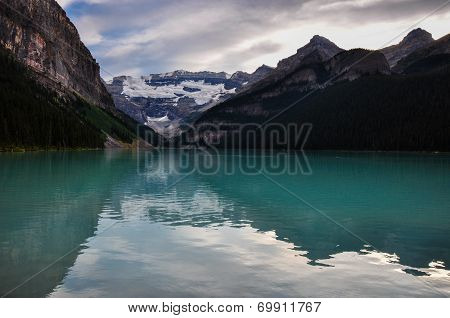 Beautiful Lake Louise In All It's Purity, Alberta, Canada