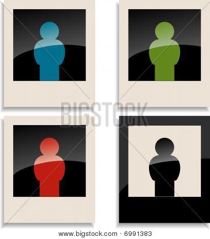 Four man on photocard