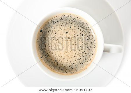 Taza de café aislado