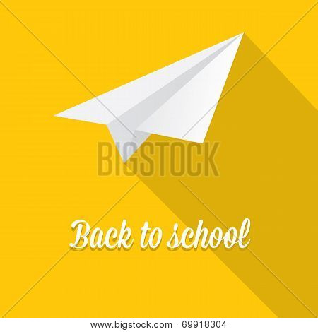 back to school vector concept illustration
