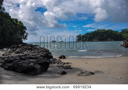 Beach At Manuel Antonio National Park, Costa Rica