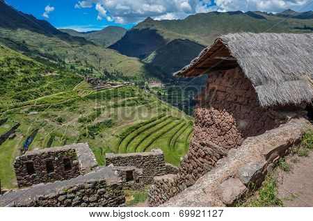 Pisac Incas Ruins, Sacred Valley, Peru