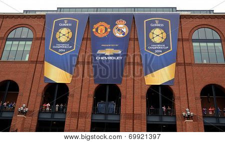 International Champions Cup Flags