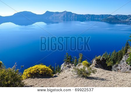 Crater Lake National Park, Oregon, Usa
