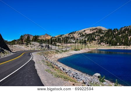 Lassen National Park, California, Usa