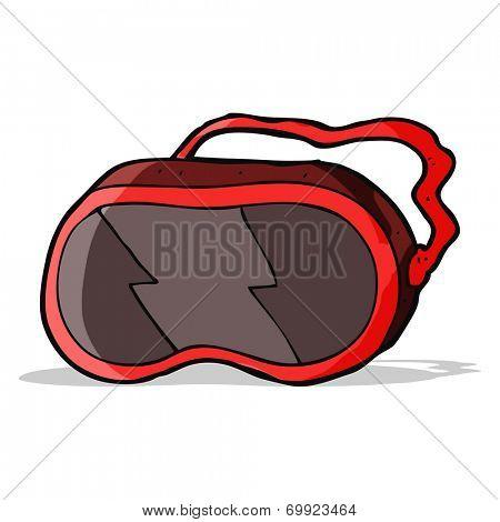 cartoon ski mask