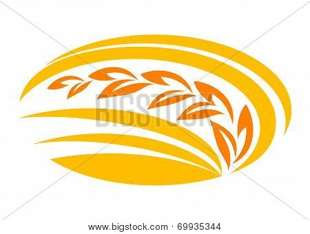 Wheat cereal symbol