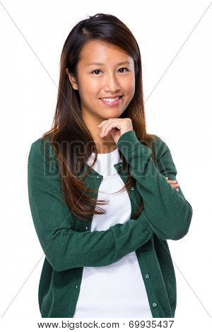 Singaporean young woman