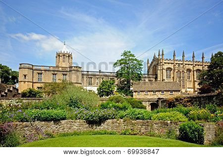 Christ Church College and Cathedral, Oxford.
