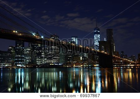 Brooklyn Bridge. New York. United States