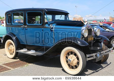 Historical 1930 model A Ford
