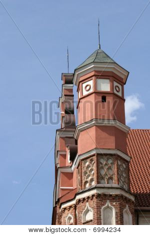 Tower of Bernardine church in Vilnius.