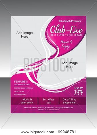 Abstract Club Flyer