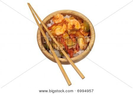 Asian Sweet And Sour Prawns
