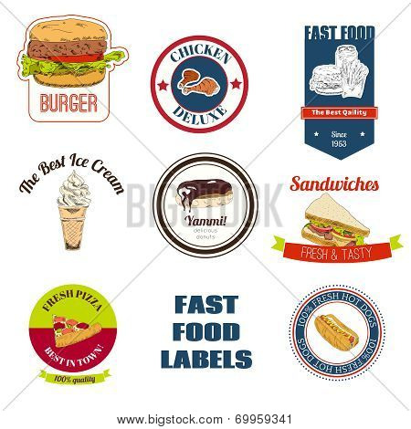 Fast food labels set