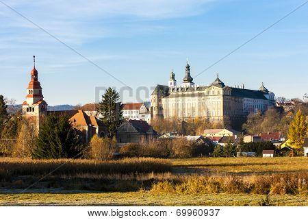 benedictine monastery in Broumov, Czech Republic
