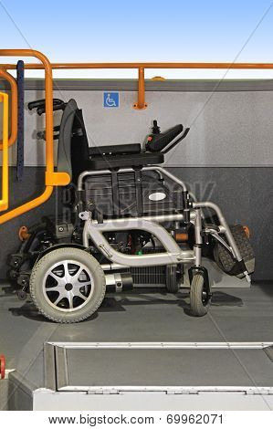 Wheelchair In Bus