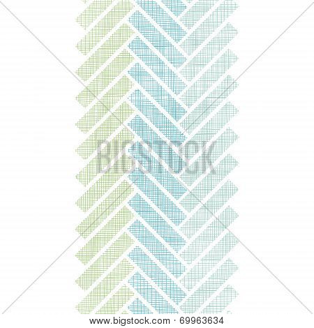 Abstract textile stripes parquet vertical seamless pattern background