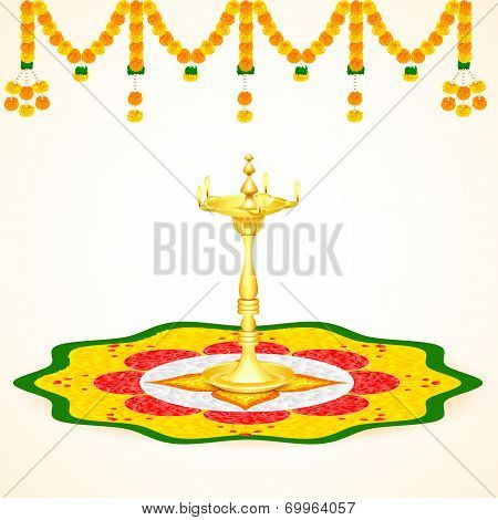 Happy Onam background