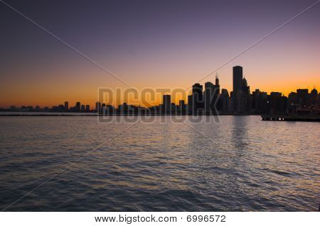 Chicago From Water