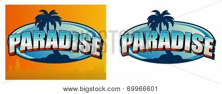 Paradise Sign