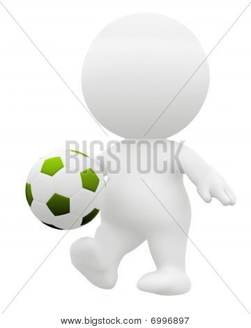 3D Soccer Player
