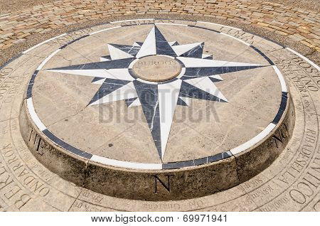 Compass Rose Detail