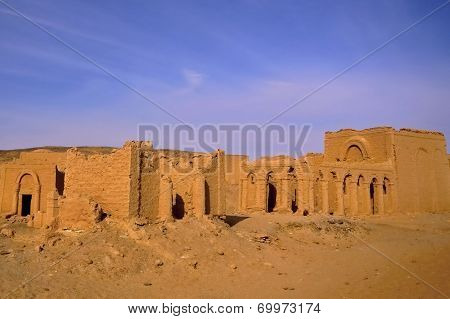 El Bagawat Cemetery, Kharga Oasis, Egypt