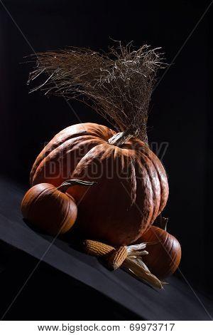 Pumpkins In The Dark