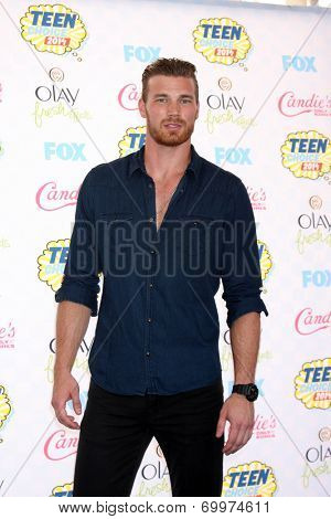 LOS ANGELES - AUG 10:  Derek Theler at the 2014 Teen Choice Awards Press Room at Shrine Auditorium on August 10, 2014 in Los Angeles, CA