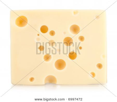 Piece Of Cheese With Heart