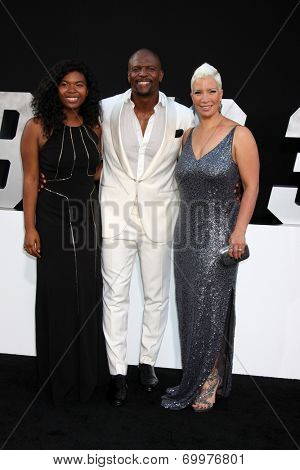 LOS ANGELES - AUG 11:  Terry Crews at the