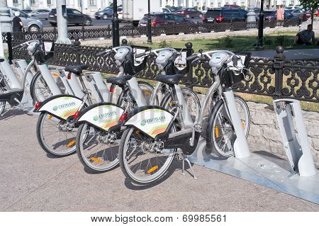 Moscow. Bicycle Rental
