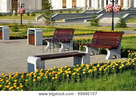 Attractive benches