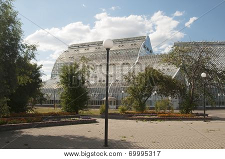 The New Climatizer (collection Fund Hothouse) In Botanical Garden Ras