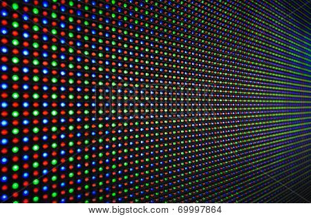 LED RGB background texture