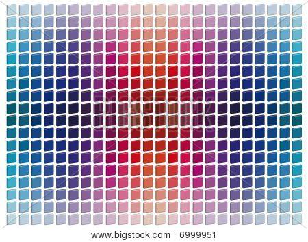 Tridimensional Mosaic Tiles