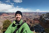 pic of selfie  - Grand Canyon National Park in Arizona United States - JPG
