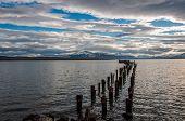 image of natal  - By the waterside in Puerto Natales Chile - JPG