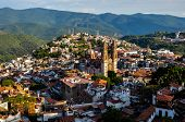 picture of taxco  - View Over Colonial City Of Taxco - JPG